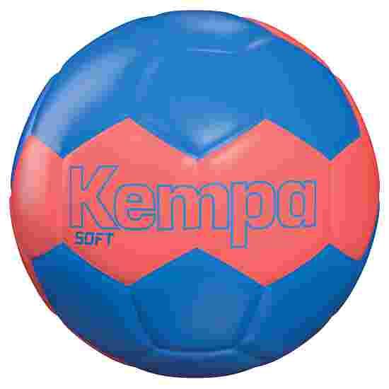 "Kempa ""Leo Soft"" Handball Blue/red"