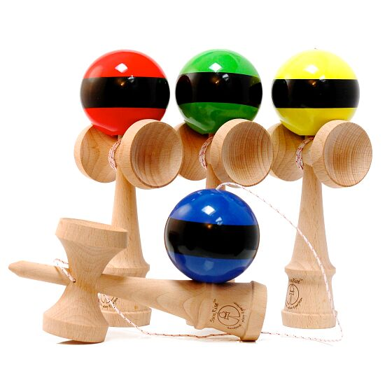 Kendama Sunrise Competition Stripes Rot/Schwarz