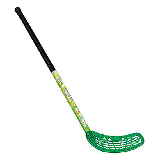 """Kids Maxi"" Floorball Stick Green blade"