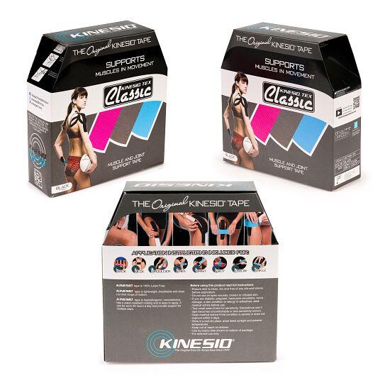 "Kinesio ""Tex Classic"" Kinesiology Tape Black"