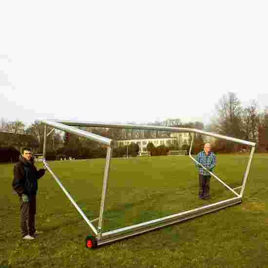 """Kippsicherung """"Safety"""" für Jugendfußballtore Für Jugendtore 5x2 m, untere Tortiefe 1 m, Quadrat-Profil 80x80 mm"""