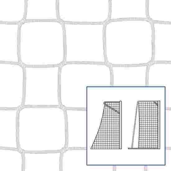 "Kleinfeld-/Handballtornetz ""80/100 cm"" Weiß, 4 mm"