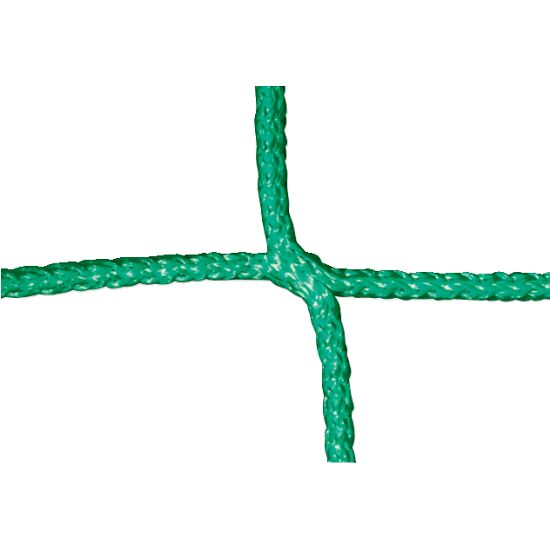 Knotenloses Jugendfußballtornetz Grün