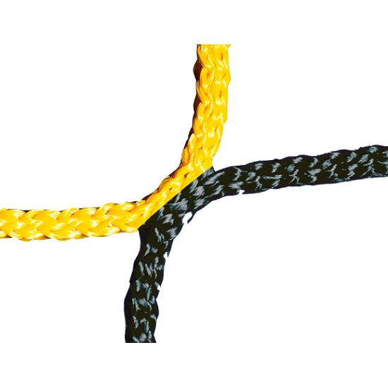 Knotless Net for Men's Football Goals 750x250 cm Black/yellow