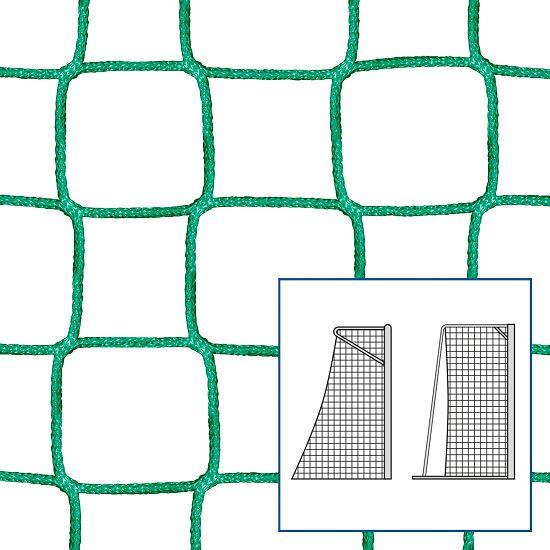Knudeløse Net til legeplads-/ håndboldmål, 310x210 cm. Grøn
