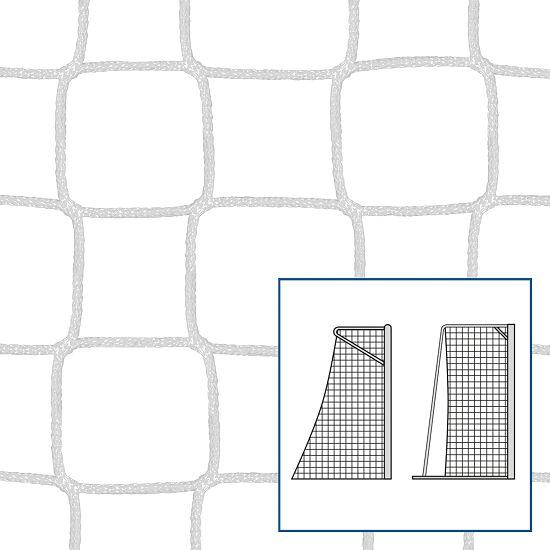 Knudeløse Net til legeplads-/ håndboldmål, 310x210 cm. Hvid