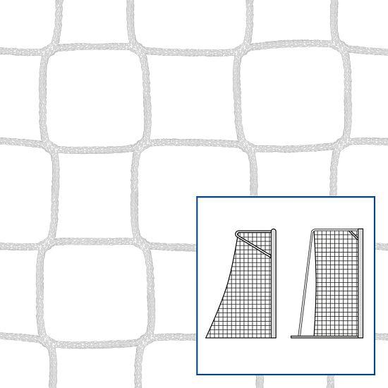 Knudeløse net til legeplads- og håndbold mål Hvid, 4 mm