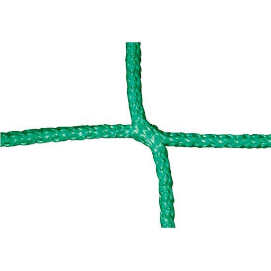 Knudeløst net til 11-mands fodboldmål 750x250 cm. Grøn