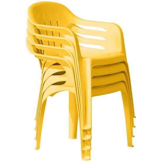 "Kunststoffsessel ""Selva"" Gelb"