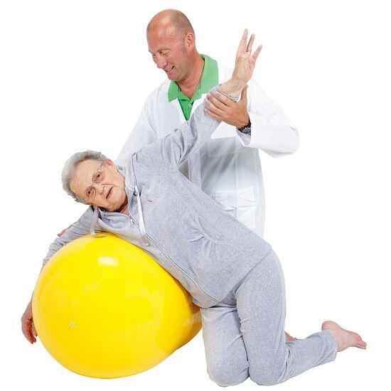 """Ledraplastic Gymnastikrulle """"Gymnic Physio-Roll"""" ø 55 cm, Gul, L:90 cm"""