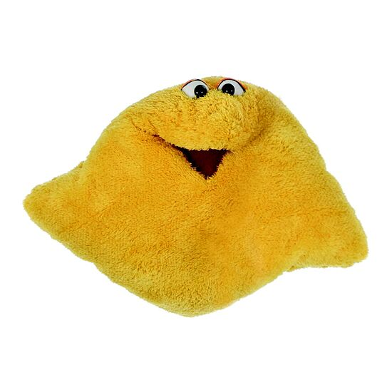 Living Puppets® Wunschtraum-Kuschelmuschelkissen Gelb