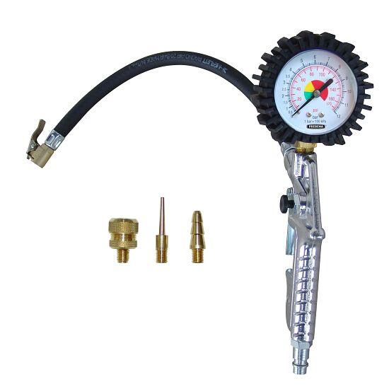 Lufttryksmåler med manometer og pistol