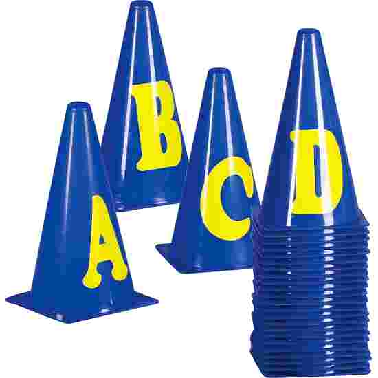 Marking Cones Letters A–Z