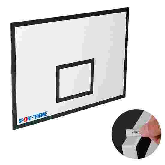 MDF basketball backboard 90x60 cm, 21 mm