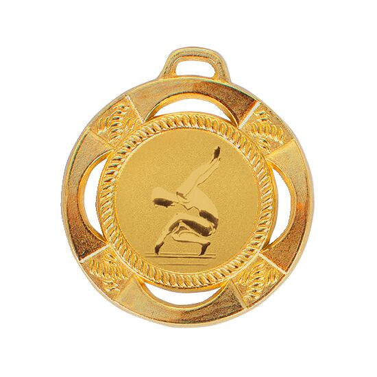 Medaille, ø 45 mm Gold