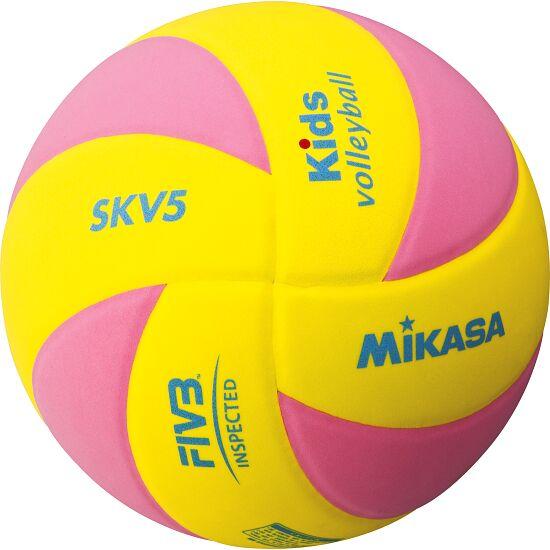 "Mikasa® Volleyball ""SKV5 Kids"" Gelb-Rosa"