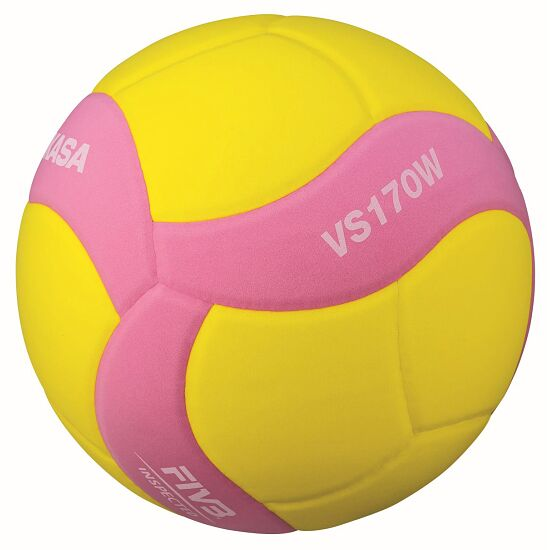 "Mikasa Volleyball  ""VS170W-Y-BL Light"" Gelb-Pink"