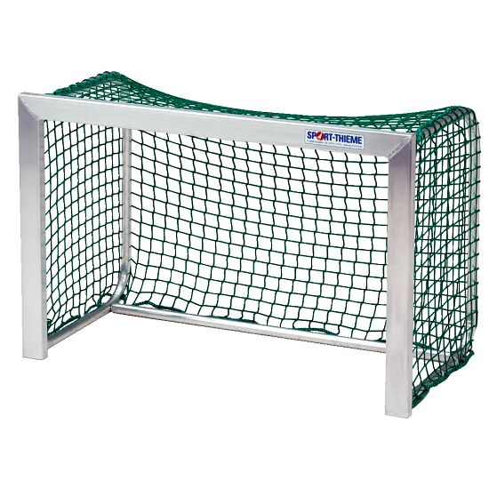 Mini Goal Net, Mesh Width 45 mm For goals 1.20x0.80 m, goal depth 0.70 m, Green