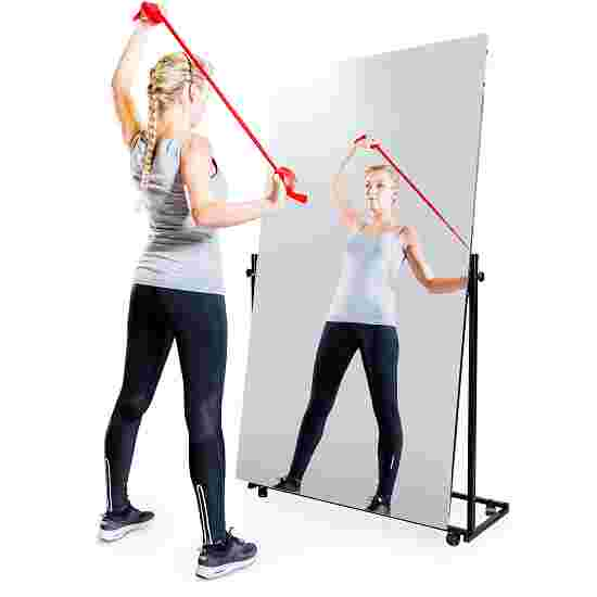 Mobile Corrective Foil Mirror 1-piece, swivelling, 175x100 cm (HxW)