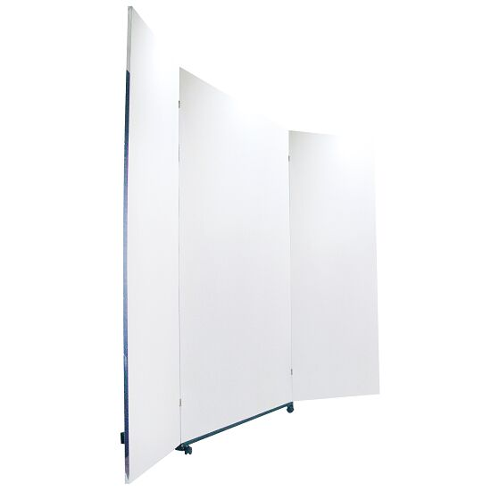 Mobile Corrective Foil Mirror 3 sections, 200x150/74/74 cm (HxW)