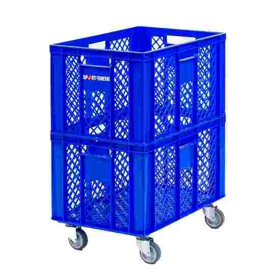 Mobile Storage Basket 60x40x74 cm