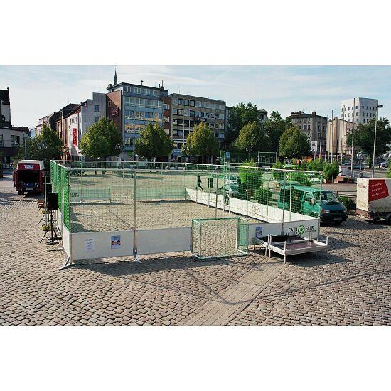 Mobiler Streetsoccer-Court Ohne Netzumrandung, Courtgröße 10x7 m