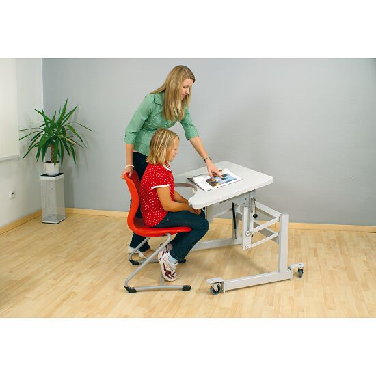 "Möckel ""ergo S 52 R"" Ergonomic Table Screw feet, Light grey"