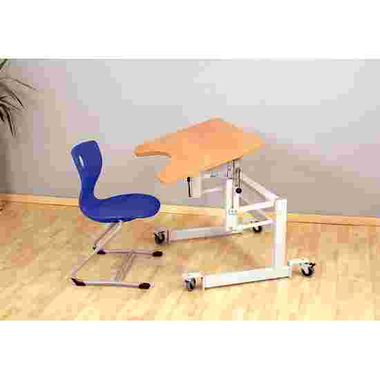 """Möckel """"ergo S 52 R"""" Therapy Table Castors with brakes, Beech-effect"""