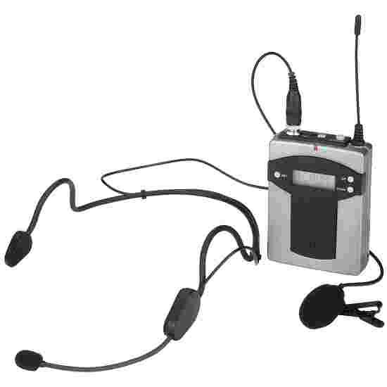Monacor Taschensender mit 2 Mikrofonen