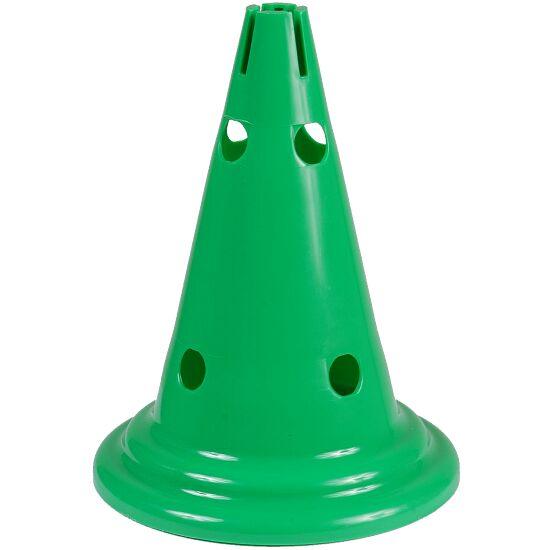 Multi-aktivitets Kegle Grøn, 30 cm, 8 huller