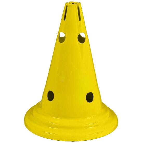 Multi-Purpose Cone Yellow, 30 cm, 8 holes