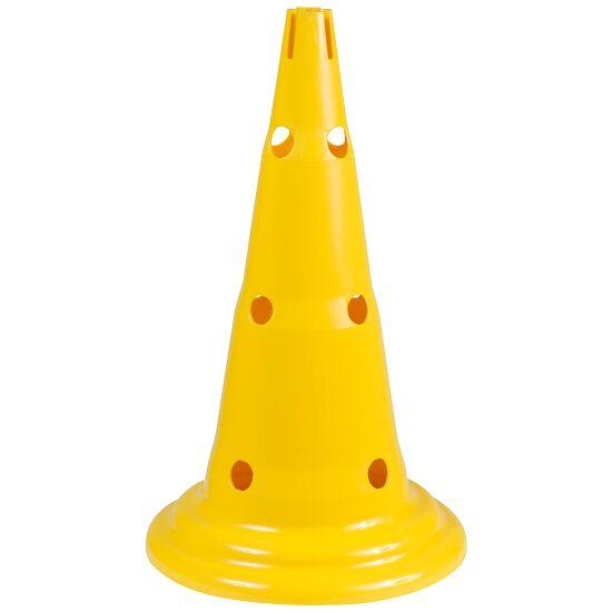 Multi-Purpose Cone Yellow, 50 cm, 12 holes