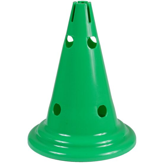Multi-Purpose Cones Green, 30 cm, 8 holes