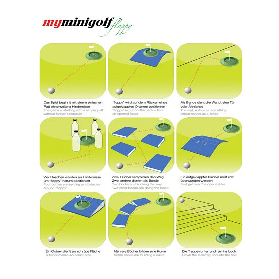 "MyMinigolf-Set ""Floppy Senior"""