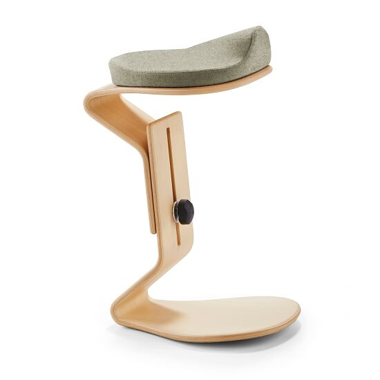"Nest Nature Ergonomie-Hocker ""Ercolino"" Grau"