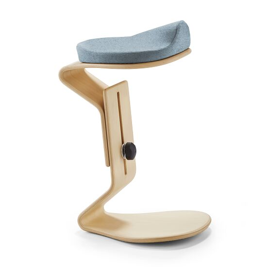 "Nest Nature Ergonomie-Hocker ""Ercolino"" Hellblau"