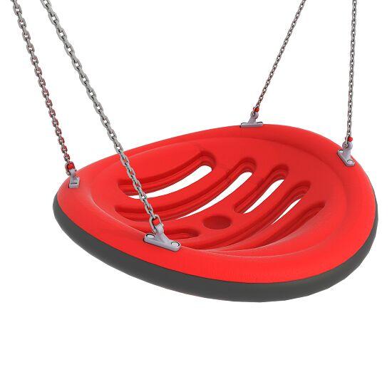 Nestschaukel mit Aufhängeketten Aufhängehöhe 220 cm, Rot