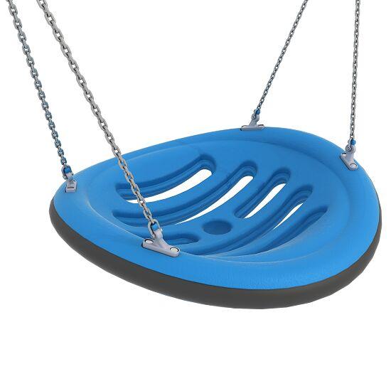 Nestschaukel mit Aufhängeketten Aufhängehöhe 220 cm, Blau