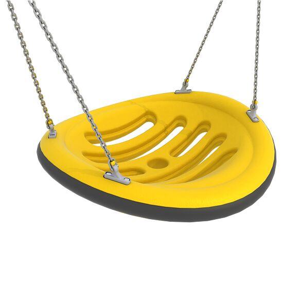 Nestschaukel mit Aufhängeketten Aufhängehöhe 220 cm, Gelb