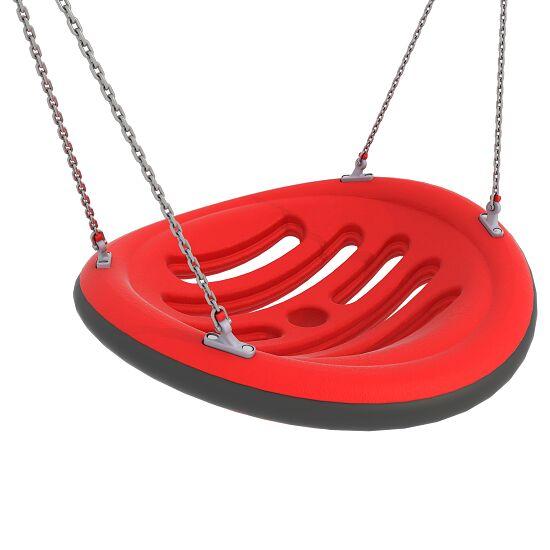 Nestschaukel mit Aufhängeketten Aufhängehöhe 260 cm, Rot