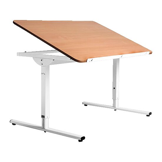 Nitzbon® Ergonomietisch va 80x60 cm, Buche