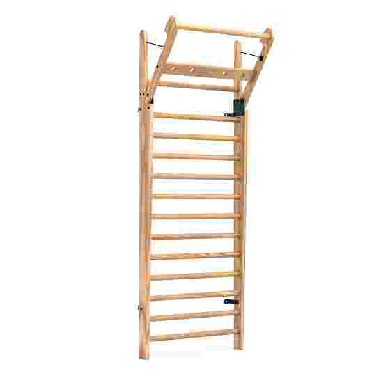 NOHrD Wall Bars with Foldout Bar Ash, 14 rungs