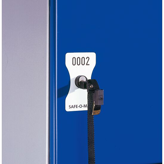 Number Plate for Safe-O-Mat Coin Deposit Lock