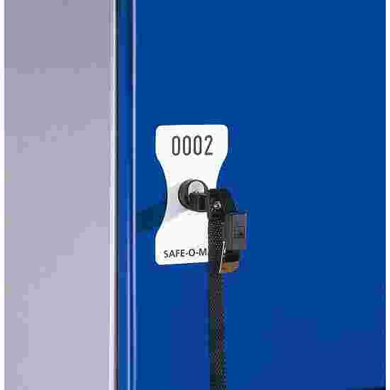 Number Plate for Safe-O-Mat Coin Deposit Lock