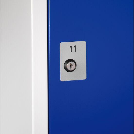 Nummernschild für Zylinderschloss