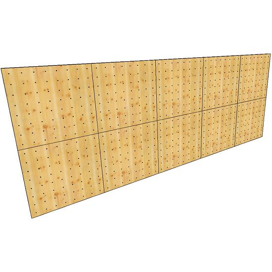 "OnTop® Boulderwand-Bausatz ""Indoor Natur Pur"", Höhe 2,48 m 620 cm, Ohne Überhang"
