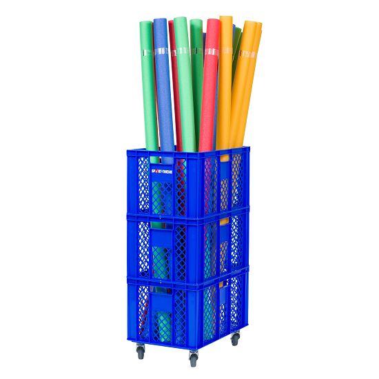 Opbevaringsvogns Pool Noodles 60x40x106 cm