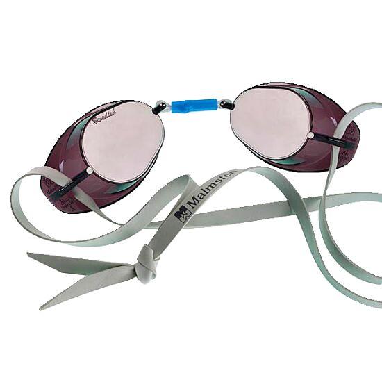 Original Malmsten Schwedenbrille, verspiegelt Silber verspiegelt