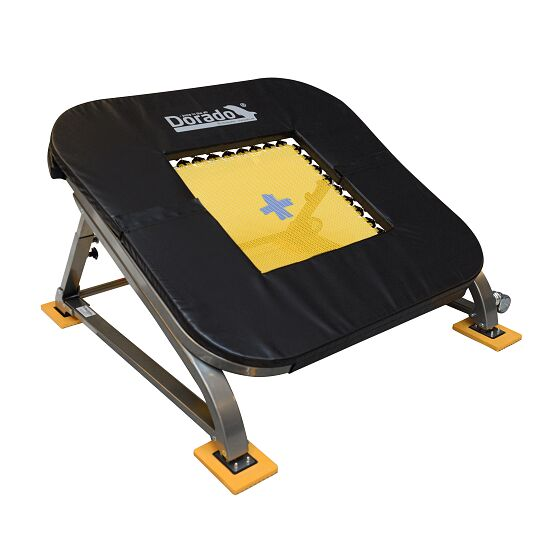 "PE-Redskaber ""Dorado"" Minitramp 36 springs (yellow bed)"
