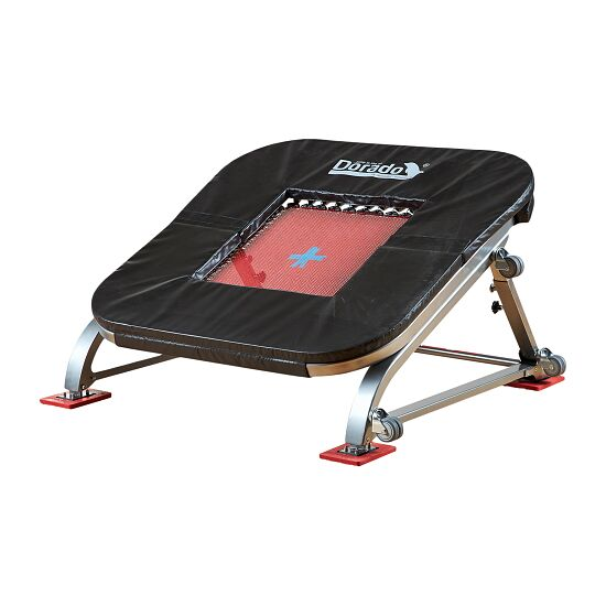 "PE-Redskaber ""Dorado"" Minitramp 40 springs (red bed)"